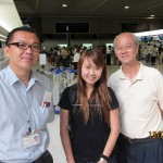 L to R: Tour Leader(Tan San), Assistant Tour Leader(Coey Lim) and Writer(Choo Chaw)