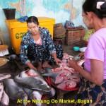 Nyaung Oo Market in Bagan