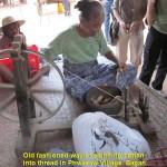 Spinnin cotton