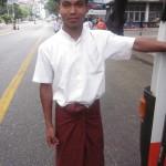 Yangon Bus Assistant, Myat Thu