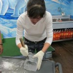 Ice-Sculpturing Teacher