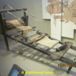 A traditional loom
