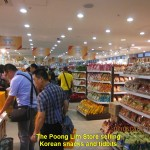 Last shopping at The Poong Lim Store