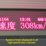 Speed display in every train-coach