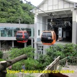 Upper Cable-Car Station of Tianmen Mountain