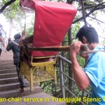 Sedan-chair service in Yuangjiajie Scenic Spot