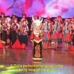 A Tujia singer