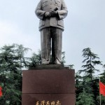 Statue of Chairman Mao in Mao Zedong Square