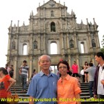 Writer & wife revisited Macau