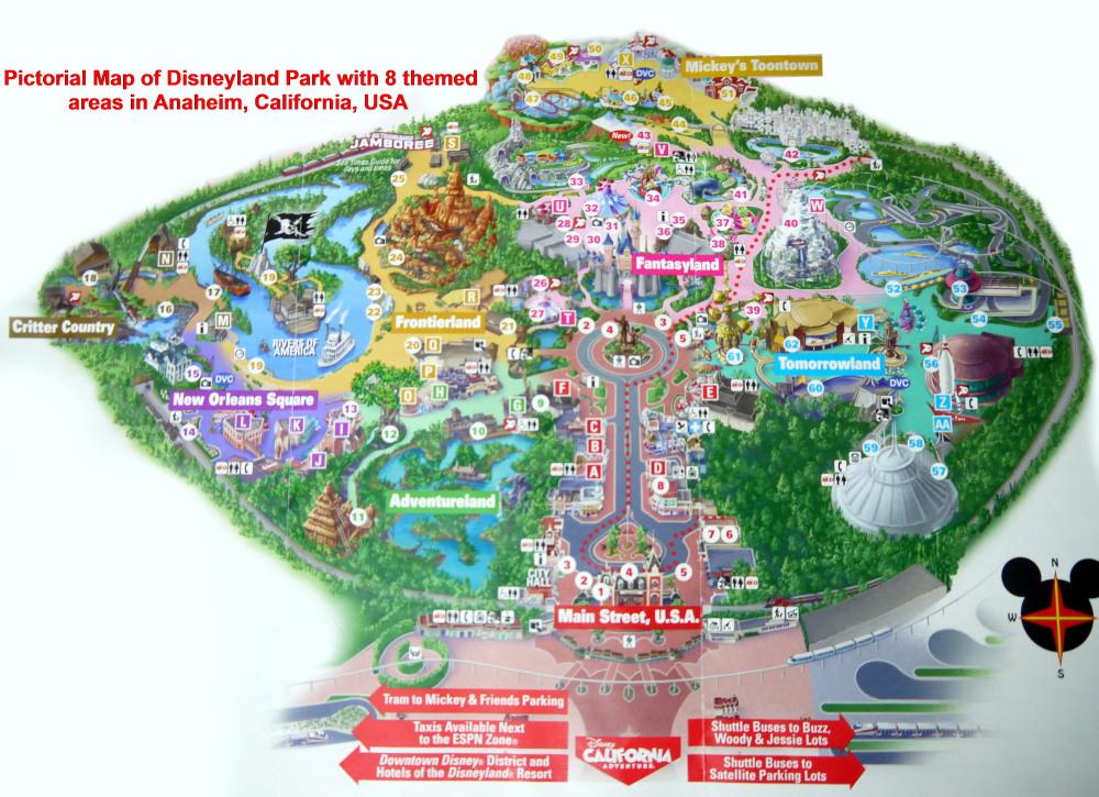 Usa West Coast Travel Part Vi Disneyland Resort Anaheim Travel Cities
