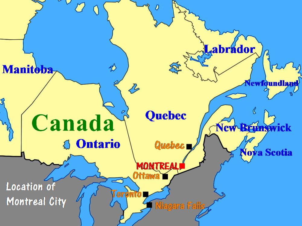 canada map east coast Map Of Canada East Coast Map Of The Asia canada map east coast