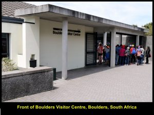 Boulders Visitor Centre, entrance to African Penguins' home