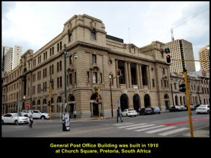 General Post Office was built in 1910.