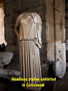 Headless Statue in Colosseum
