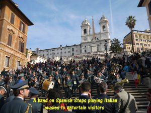 Band Playing Italian Musics