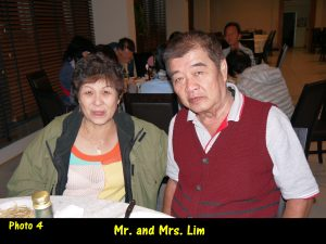 Mr, and Mrs. Lim