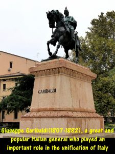 Giuseppe Garibaldi(1807-1882), an Italian general who played an important role in the unification of Italy
