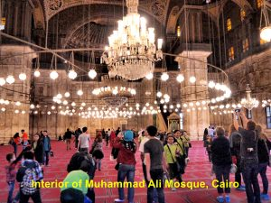 Muhammad Ali Mosque can accommodate 10 000 worshippers