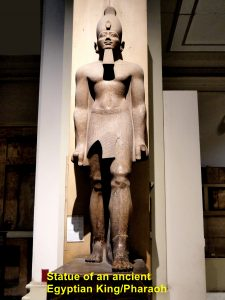 Statue of Ancient Egyptian King/ Pharaoh