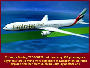 Emirates Boeing 777-300ER Airplane