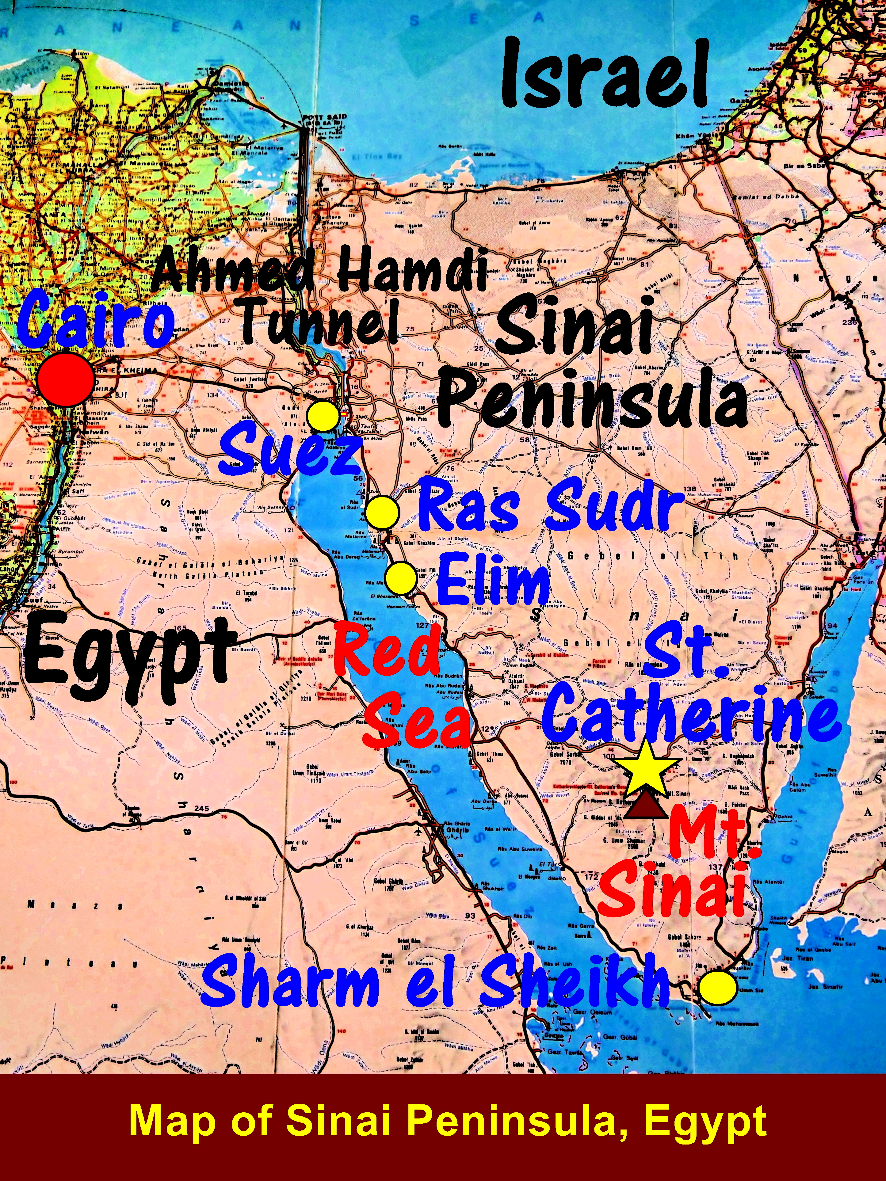 Moses\' well in Elim : Travel Cities