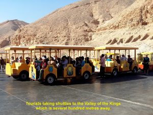 Shuttles to the Valley of the Kings
