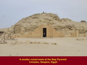 Smaller ruined tomb at Step Pyramid Complex, Saqqara, Egypt